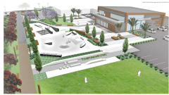 Mercury Bay Skatepark Trust - concept plans for new skatepark Taylor's Mistake Whitianga