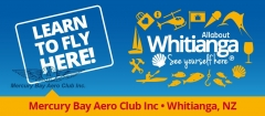 Learn to Fly at the Mercury Bay Aero Club