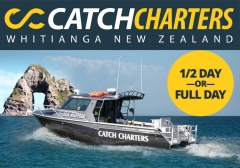 Catch Charters Whitianga New Zealand
