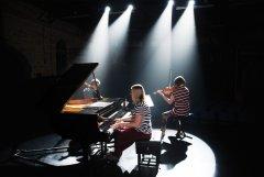 NZ Trio Morcom residence House concert Cooks Beach