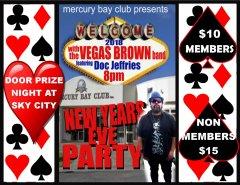 New Years Eve at Mercury Bay Club