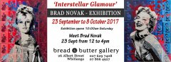 """Interstellar Glamour"" - Brad Novak Art Exhibition"