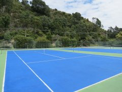 Cooks Beach Tennis Club and Tennis Courts Cooks Beach, Coromandel Peninsula