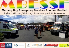 Mercury Bay Emergency Services Summer Festival 2015 Whitianga