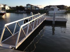 Jetty & Pontoon designed and manufactured by Alipro Engineering