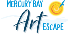 Mercury Bay Art Escape Logo