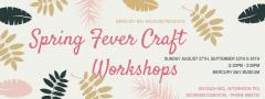 Spring Fever Workshop 2017 Mercury Bay Museum