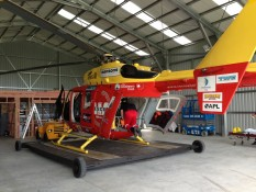 Rescue Helicopter hangar Bay Project Services Ltd Builders Whitianga