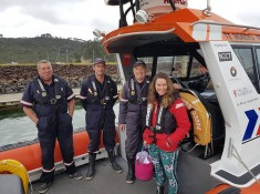 Whitianga Volunteer Coastguard volunteers