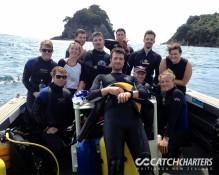 Students Dive Charters Whitianga, NZ