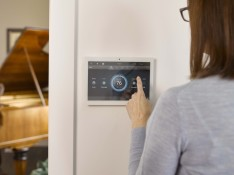 Control4 Touchscreen Connected Electrical Electrician Whitianga Coromandel Peninsula