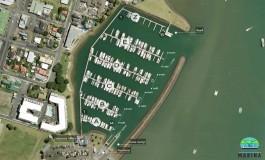 Whitinaga Marina mooring areas