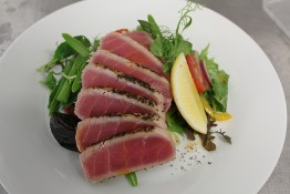tuna salad at Enigma On The Esplanade