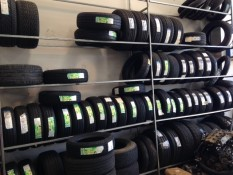 Some of our tyre range at East Coast Automotive and Coastal Tyres