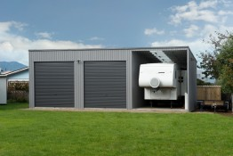 Total Span Coromandel and Whitianga double Garage and campervan Storage