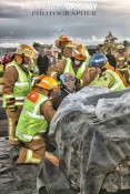 Whitianga Fire Station Drill by Vaughan Grigsby