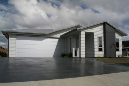 New home Build by Ohlson and Whitelaw builders Ltd Whitianga
