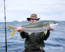 Kingfish fishing charters Whitianga NZ