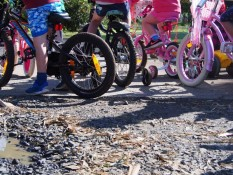 Fun bike time at Peanuts Childcare Centre Whitianga