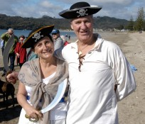 Polar Swim Challenge Whitianga Pirate ready to take the plunge