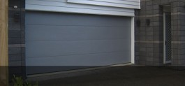Flat Woodgrain sectional Garage doors by Doors 2000 Coromandel