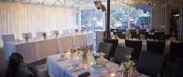 Wedding Party table at Salt Restaurant and Bar Whitianga Wedding Venue