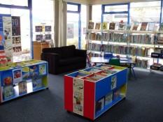 Children's section Mercury Bay Library Whitianga