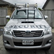 Whitianga Security patrol car