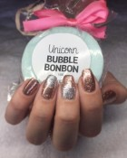 Bonbon bath and beauty products and nail art by Lisa Hogg