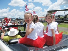 Fun at the Whitianga Santa Parade
