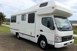 Coastal Campers - 6 berth Motorhome for hire Whitianga and Coromandel Peninsula
