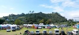 Hahei Market stalls activities near Whitianga