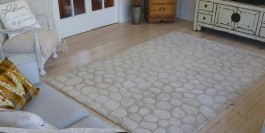 Tired pine floors made new again with full re-sand and Blonde coating.