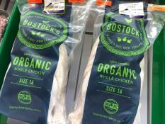 Bostock's organic whole chicken Whitianga Butchery Coromandel Peninsula
