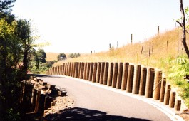 Driveway Retaining wall constructed by Testdrill Whitianga