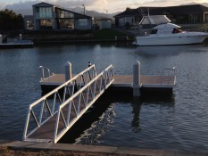 Jetty & Pontoon designed & manufactured by Alipro Engineering