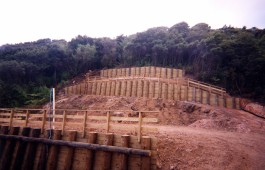 Retaining Wall by Testdrill Whitianga