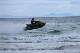 Ian Jet Ski Racing NZ event Matarangi Beach Summer festival