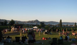 Concert in the Vines Cooks Beach Mercury Bay Coromandel