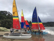 Youth sailing programme Mercury Bay Boating Club