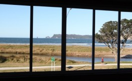 Views out from room at Admiralty Lodge Whitianga