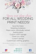 Okey Dokey Designs - wedding invitation design