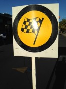 Racing Flag Goldrush Rally Coromandel in Whitianga