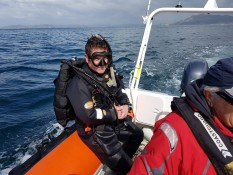 Whitianga Volunteer Coastguard diving exercise