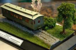 Postal Passenger trainy Mercury Bay Model Railway Club - model making club Whitianga