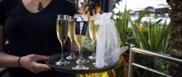 Drinks service at Salt Restaurant and Bar Whitianga Wedding Venue