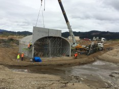 Culvert and bridge project Whitianga Waterways Bay Project Services Ltd