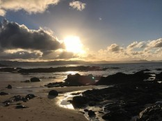 Kuaotunu beach walks 3 minutes walk from Arches Retreat