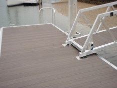 Pontoon constructed by Alipro Engineering Whitianga