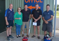 The Autobarn Whitianga mechanics, staff and clients
